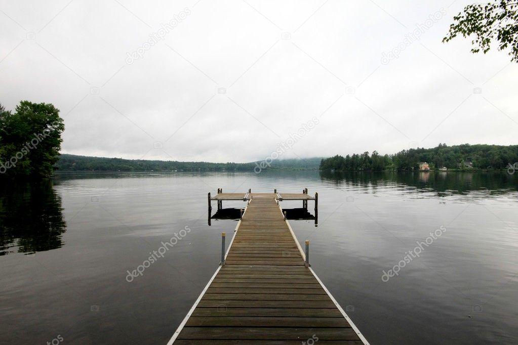Morning deck