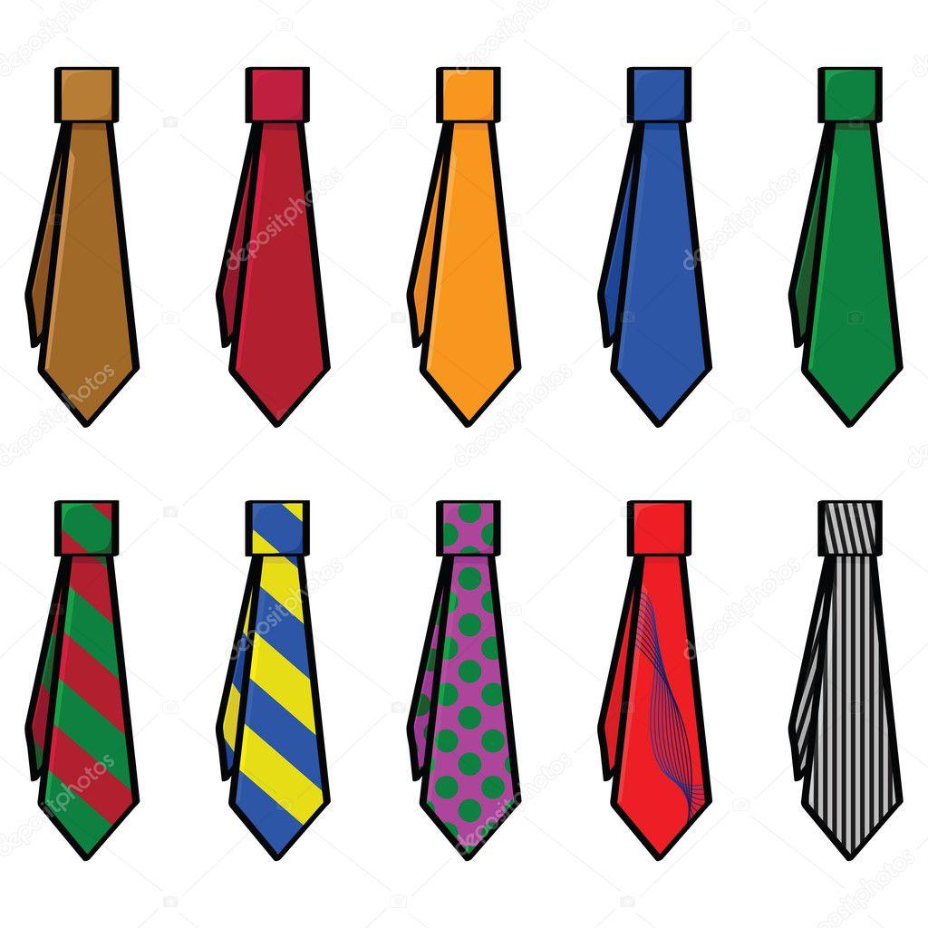 Colecci n de corbatas vector de stock 5702195 for Disenos de corbatas