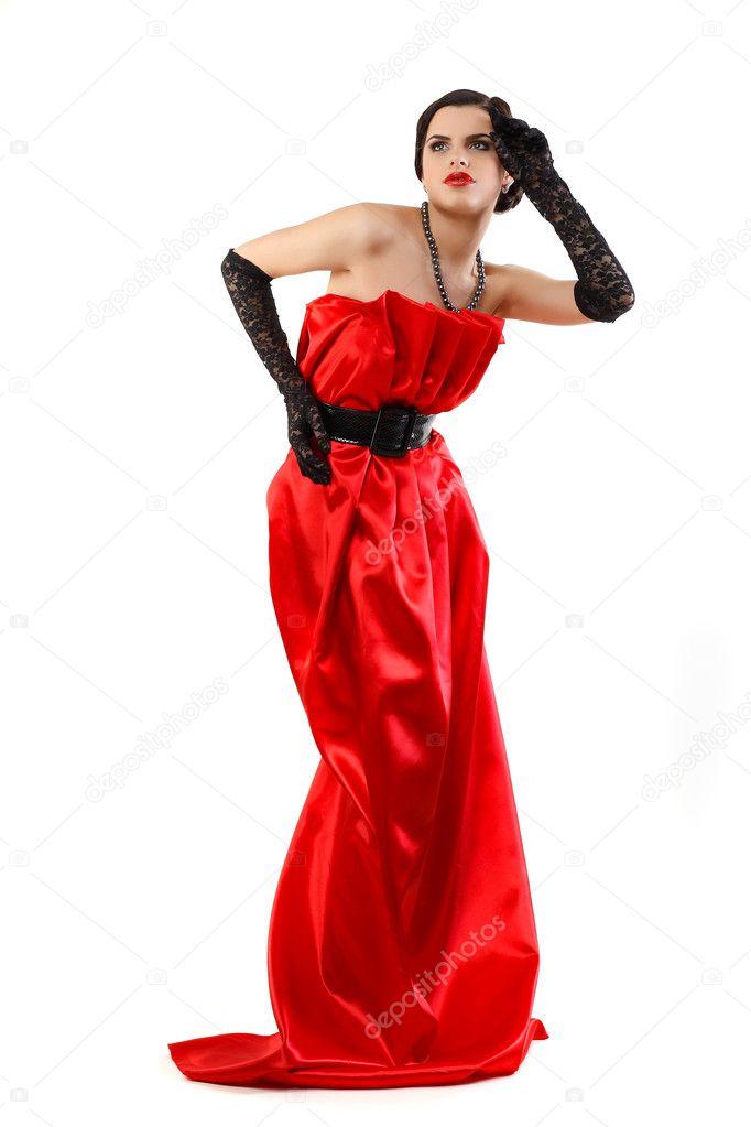 Vestiti rossi bellissimi
