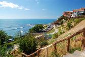 a Fekete-tenger, az ősi város nessebar, Bulgária
