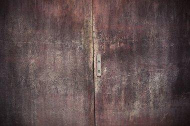 Door rust texture