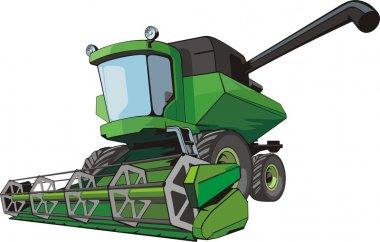 Harvest combine