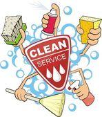 Fotografie čisté servisní značka