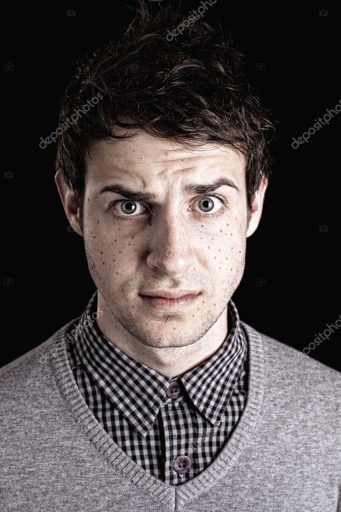 Mann Gesicht Bild