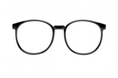Nerd glasses isolated on white