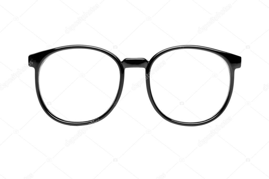 Gafas Nerd aislados en blanco — Fotos de Stock © Rangizzz #6119000