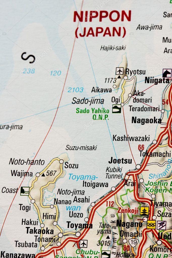 Map Of Japan Islands Stock Photo C Mapichai 5875007