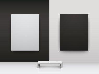 Dark and light gallery Interio