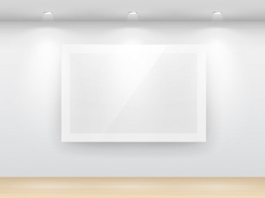 Gallery Interior with empty