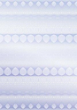 Vector guilloche background