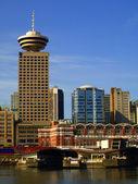 Panoráma města Vancouver Kanada