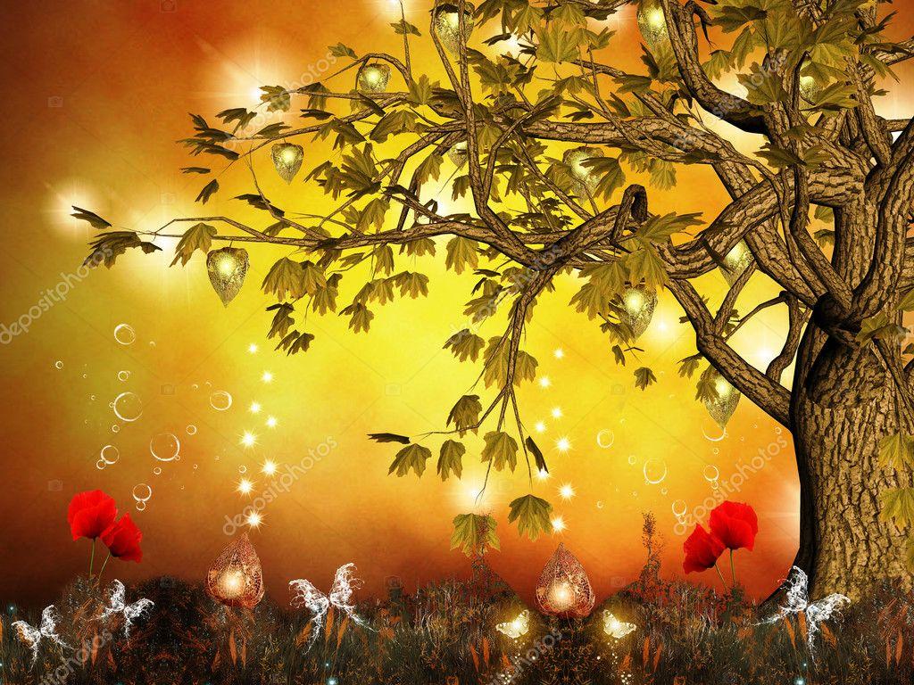 Enchanted nature series - Enchanted hill