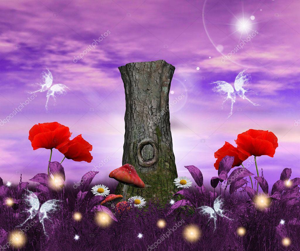 Enchanted nature series - enchanted meadow