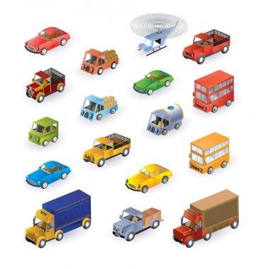 Isometric vehicles