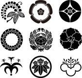 Fotografie Japanese Family Crests 5