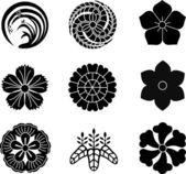 Fotografie Japanese Family Crests 9