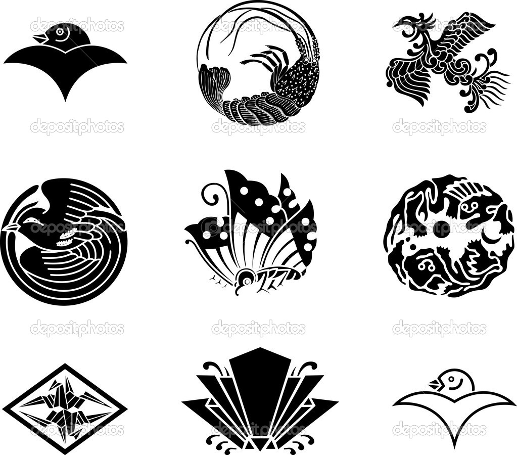 Japanese family crests 17 stock vector aryunet 6092765 japanese family crests 17 stock vector biocorpaavc Gallery