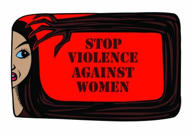 Stop violence against women it is crual