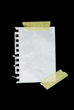 A sheet of paper