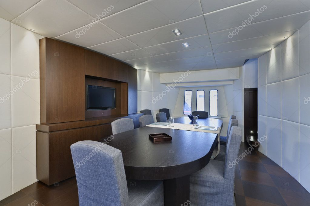 Italie Tecnomar D Yacht De Luxe 36 36 Metres Salle A Manger