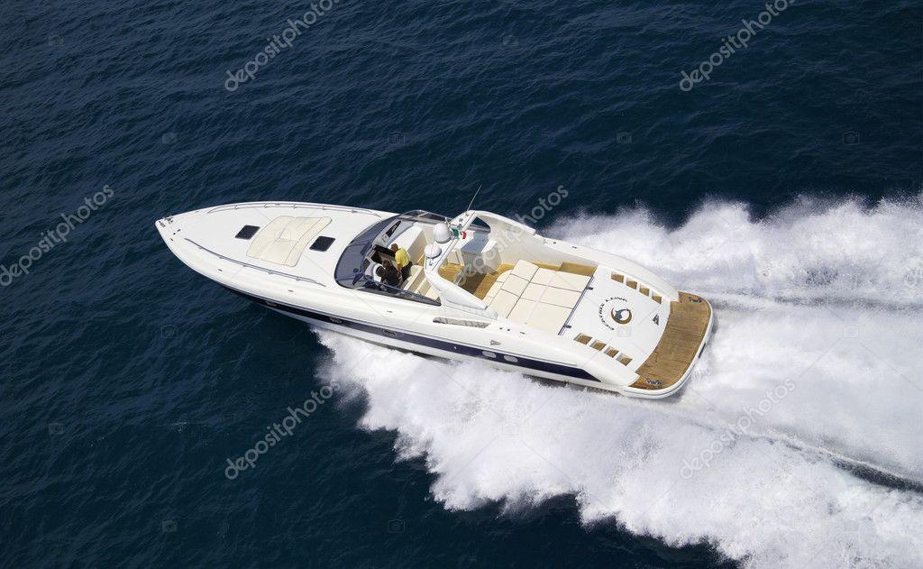 Italy, Tuscany, Viareggio, Tecnomar Madras 20 luxury yacht