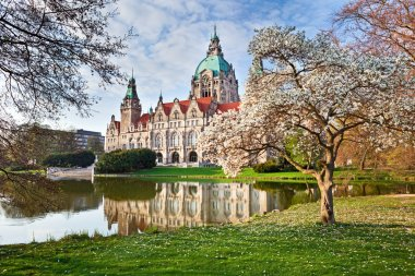 Neus Rathaus Hannover, The New Town City Hall