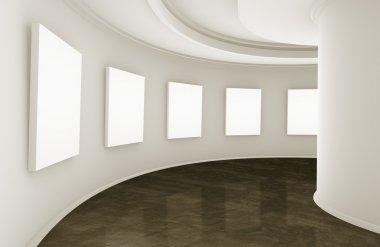Showroom or gallery