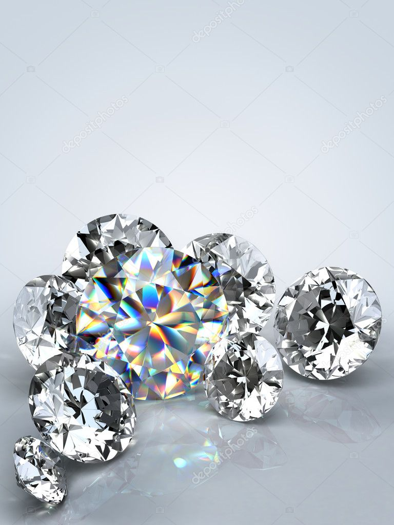 view depositphotos a top sparkling round by quality of surface stock on apttone photo light render high reflective beautiful diamond