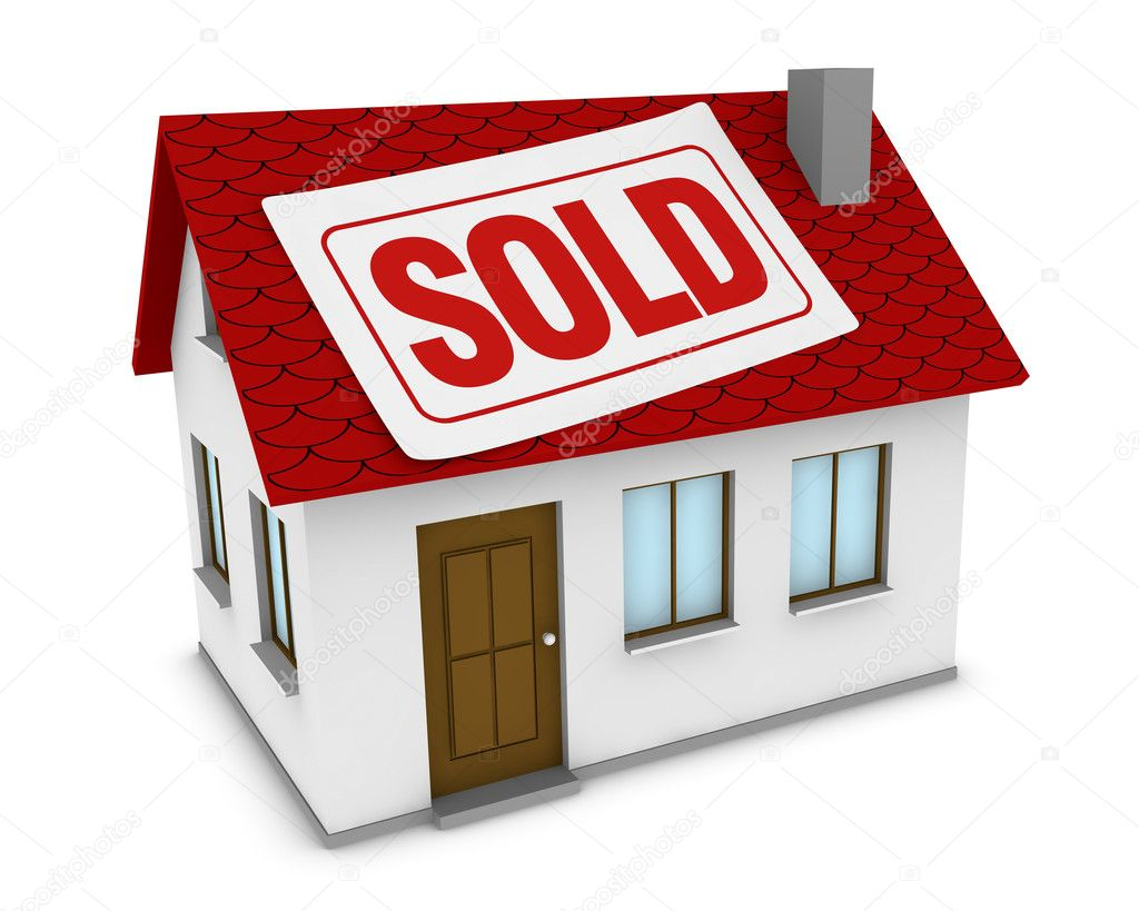 House sold — Stock Photo © lucadp #6698272