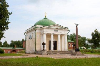 Chirch in the Borodino Savior Convent. Russia