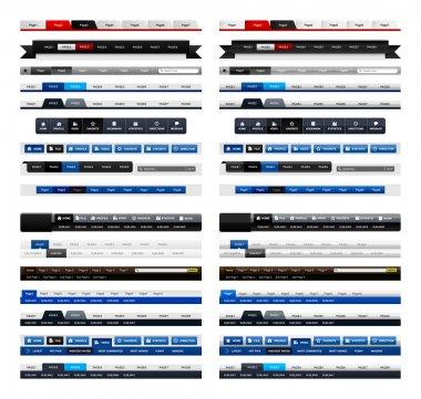 Web Design Menu Navigation Header