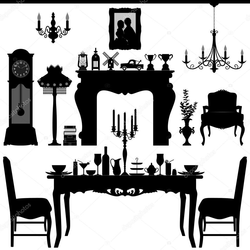 Zona Tradicional Antiguo Dise O De Interiores Muebles De Comedor  ~ Programa De Diseño De Interiores Gratis En Español