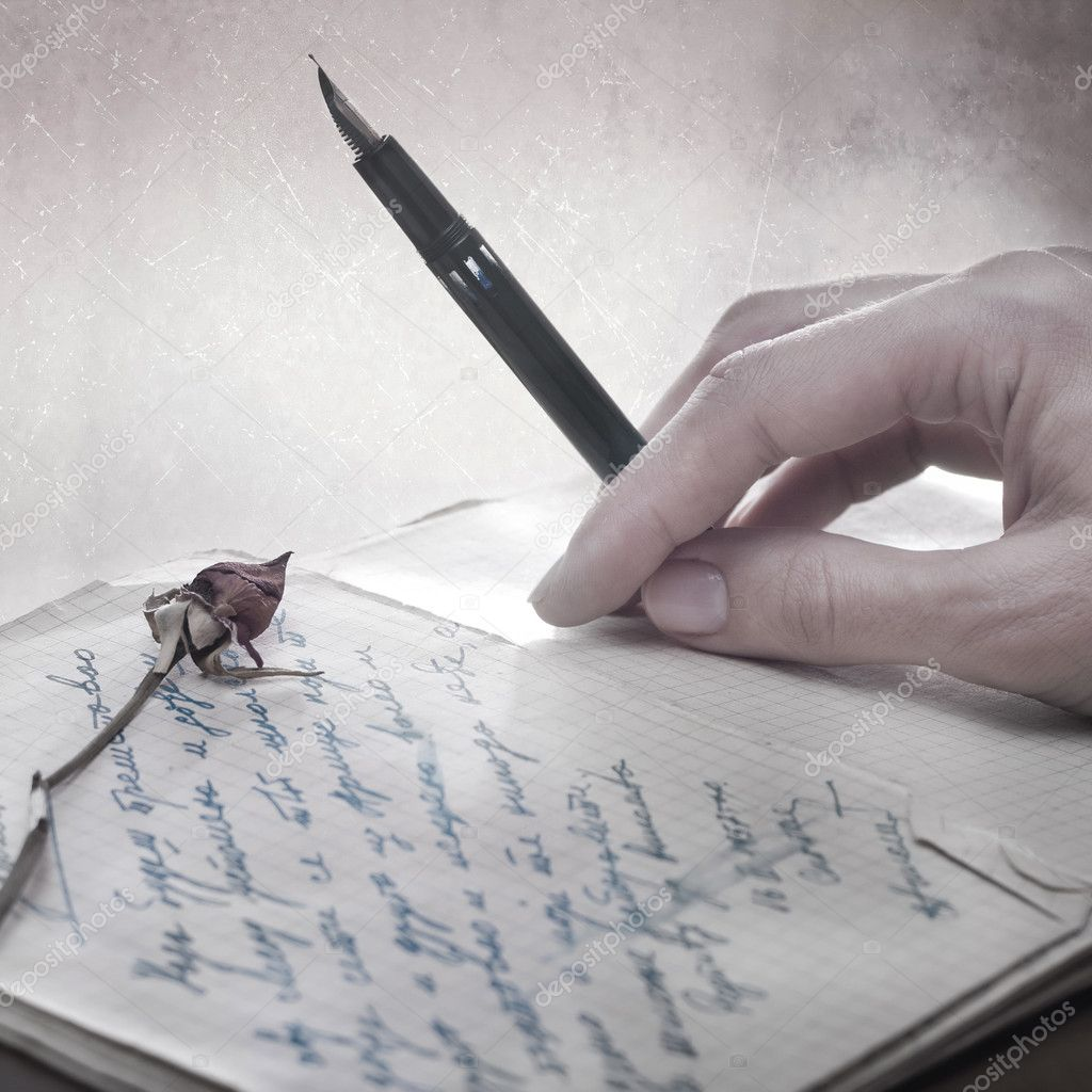how to write a love letter to a man