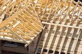 Fotografie dřevěná střecha