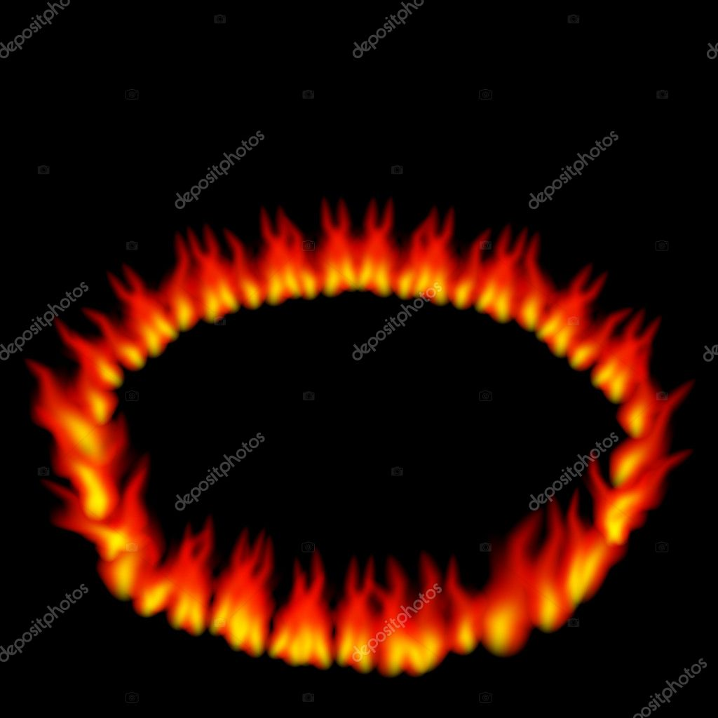 Ring Of Fire U2014 Stock Vector