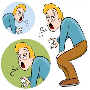 Asthma Man