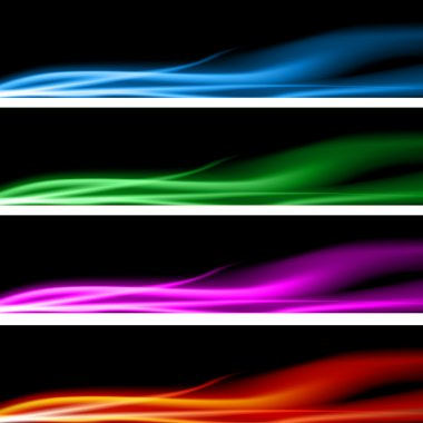 Plasma Energy Banner Set