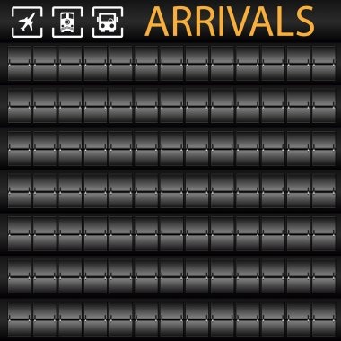 Transporation Arrivals Board
