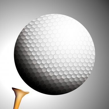Golf Ball Launches Off Tee