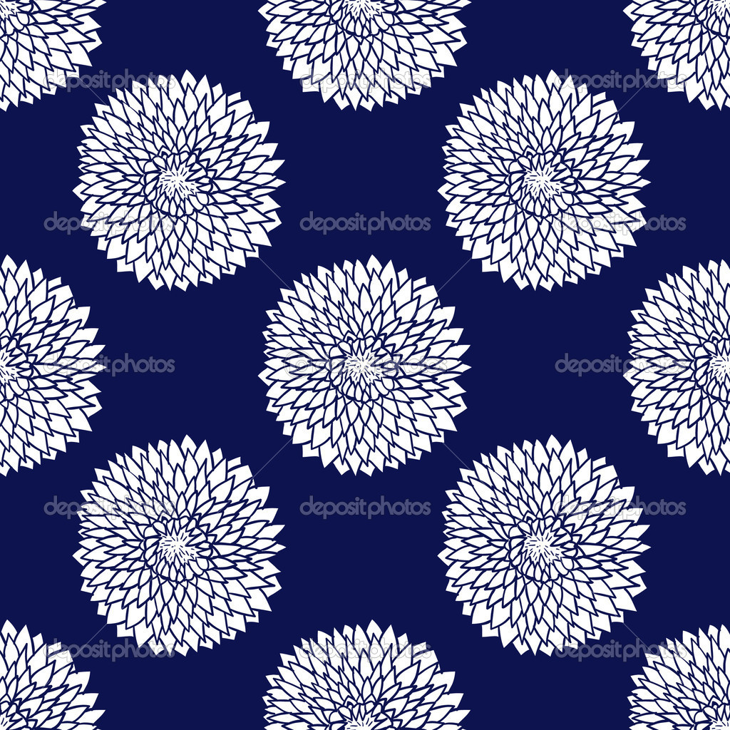 Simple blue pattern