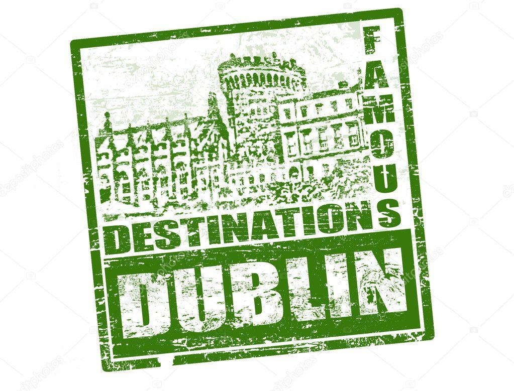 Dublin Stamp Stock Vector 169 Roxanabalint 5691611