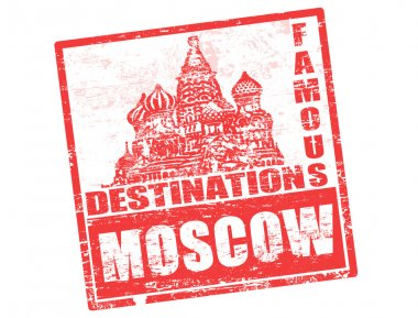 Moscow stamp