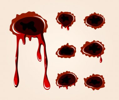 Bullet wound collection