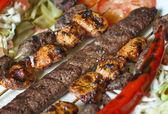 Výběr z tradiční turecký kebab