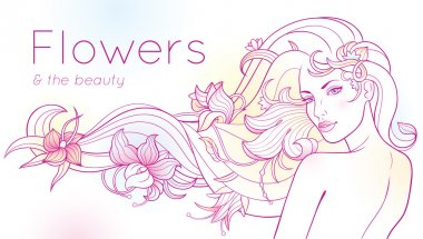 Flowers and the Beauty
