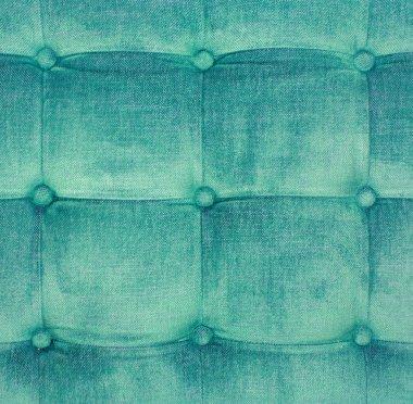 Details of the velvet cushion