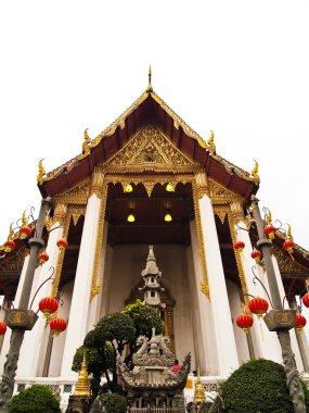 Wat Suthat Thepphawararam temples in Bangkok Thailand