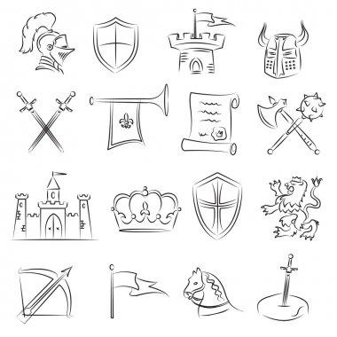 Medieval Sketch Set