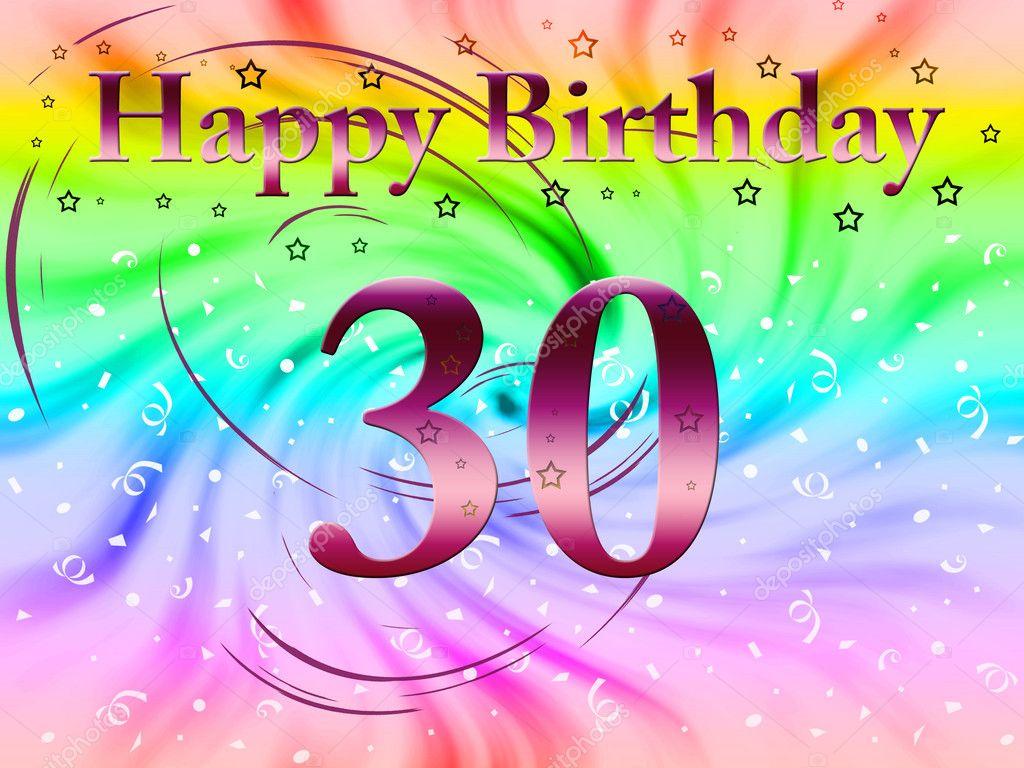grattis på födelsedagen 30 år Grattis på födelsedagen 30 år — Stockfotografi © lina0486 #5451361 grattis på födelsedagen 30 år