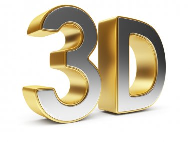 3D text. Entertainment cinema. Isolated. Illustration
